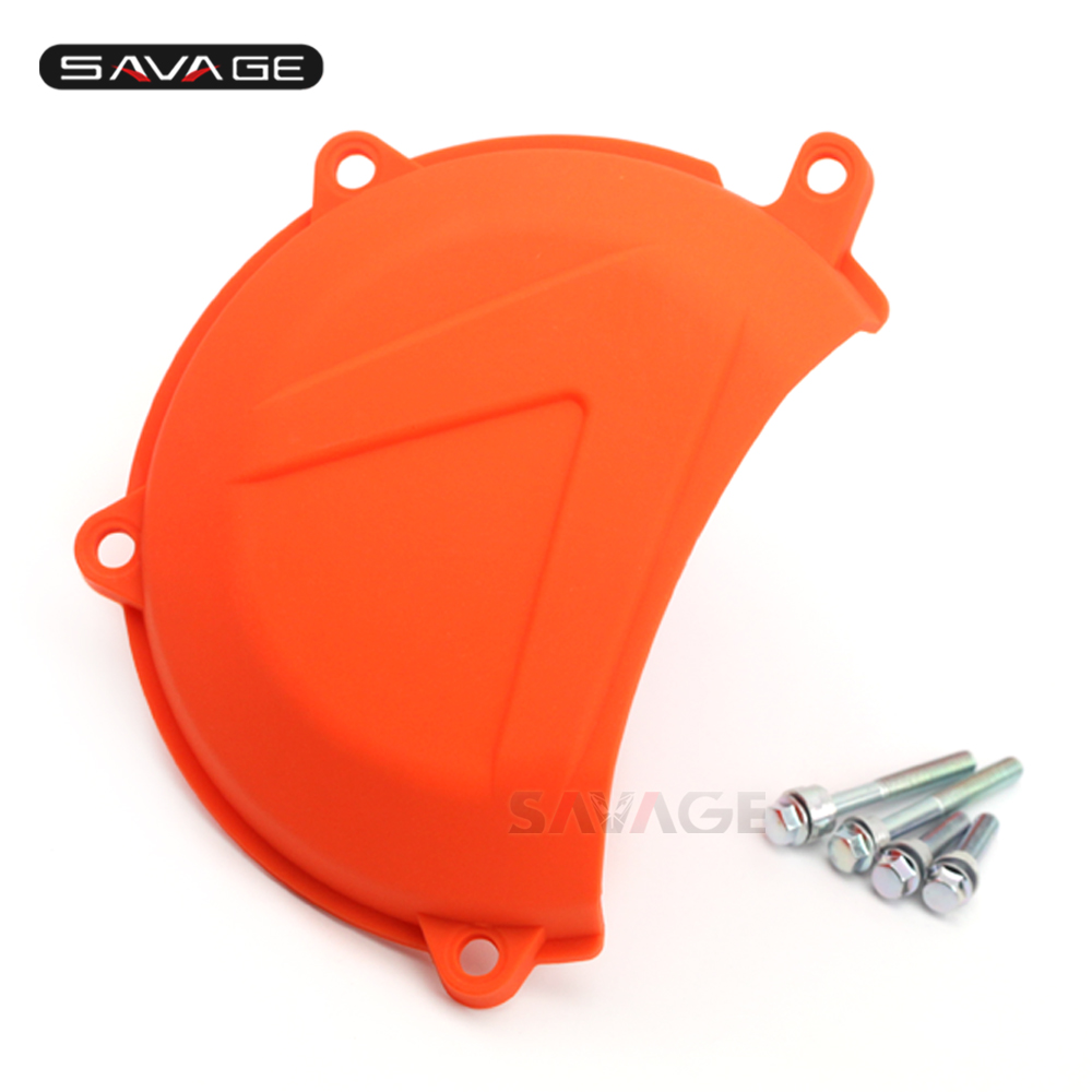 Engine Clutch Case Cover Guard For KTM 450 500 EXC SX-F XC-W XC-F SMR RALLY FACTORY Motorcycle Accessories Left Protector все цены