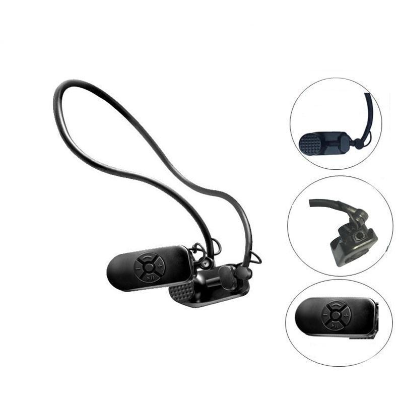 Newest APT-X V30 Bone Conduction 8G/16G HIFI MP3 Player IPX8 Waterproof Swimming Outdoor Sport Earphones 3.5mm MP3 Music Players