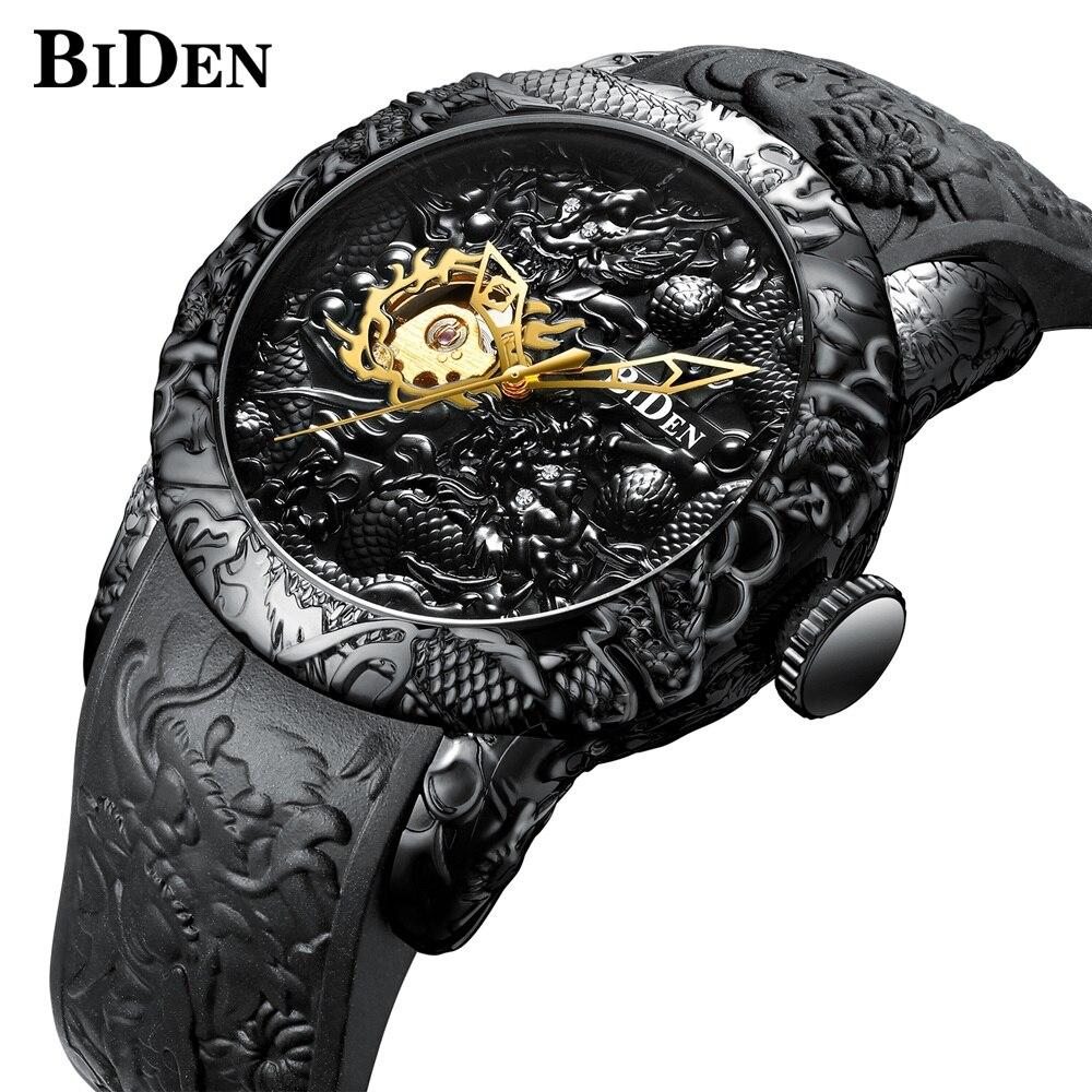 Mechanical Automatic Self-Wind Wrist Watches For Men Waterproof Mechanical Wristwatch Man Clock