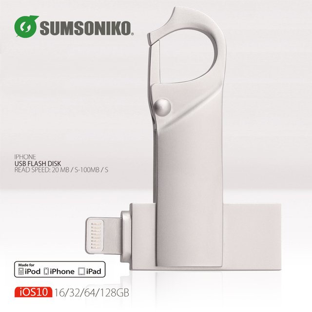 usb flash drive pendrive for iphone ipad for external storage gift pen drive usb 2.0 128GB 64GB 32GB 16GB Stick