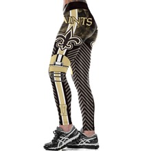 Fitness Leggings Rooter Trousers Workout-Pants S-Team Elastic Orleans New Logo Fiber