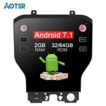 11,8 «Тесла стиль Android7.1 автомобиля нет DVD плеер gps навигации для Ford Mustang 2015 2016 2017 стерео Satnav Wi Fi блок multimedi