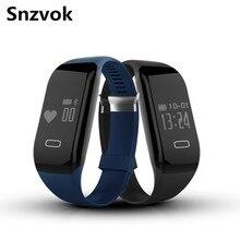 Snzvok Высочайшее Качество H3 Смарт Браслет С Heart Rate Monitor Bluetooth Спорт Фитнес Браслет Для IOS Андроид Смарт-Часы