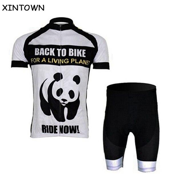 fd0388b80 XINTOWN Panda Men s Cycling Jersey Bike Team  MTB Bicycle Short Sleeve Clothing  Cycling