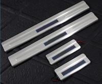 Car Styling for Ford S MAX accessories S MAX led auto door sill protector illuminated door sills scuff plates thresholds