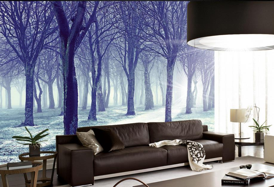 custom 3d murals wallpaper Snow Fairy Tale Non-woven 3d wallpaper walls Living room TV backdrop kitchen wallpapers