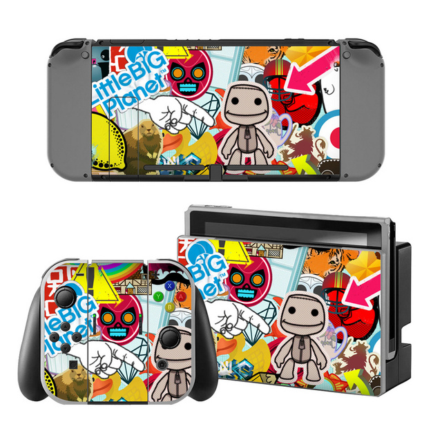 Bomb Vinyl Decal Skin Sticker Protector For Nintend Switch Console Bombing Skin Sticker Cover For Nintendo Switch Controller 2