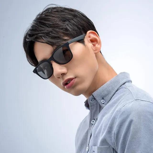2019 Xiaomi Mijia TS Fashion Human Traveler Sunglasses STR004-0120 TAC Polarized Lens UV Protection for Driving/Travel Men Women