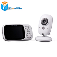 Baby Monitor 2 Way Audio 2 4Ghz Wireless 3 2 Inch Electronica Wireless 5M IR Temperature