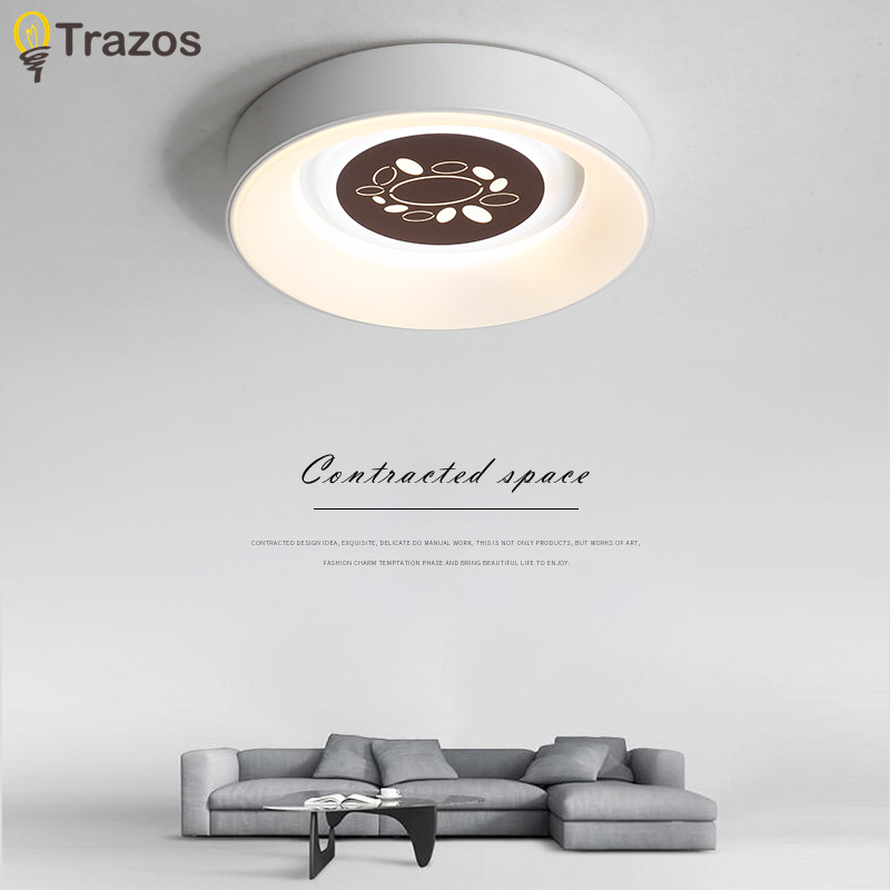 Ceiling Lights Iralan Led Ceiling Light Modern Nature Rose Design Living Room Bedroom Kitchen Dining Room Lighting Fixture Icfw1909