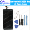 Oukitel K6000 Pro LCD Display+Touch Screen Assembly 100% Original LCD Digitizer Glass Panel Replacement For K6000 Pro+Tools