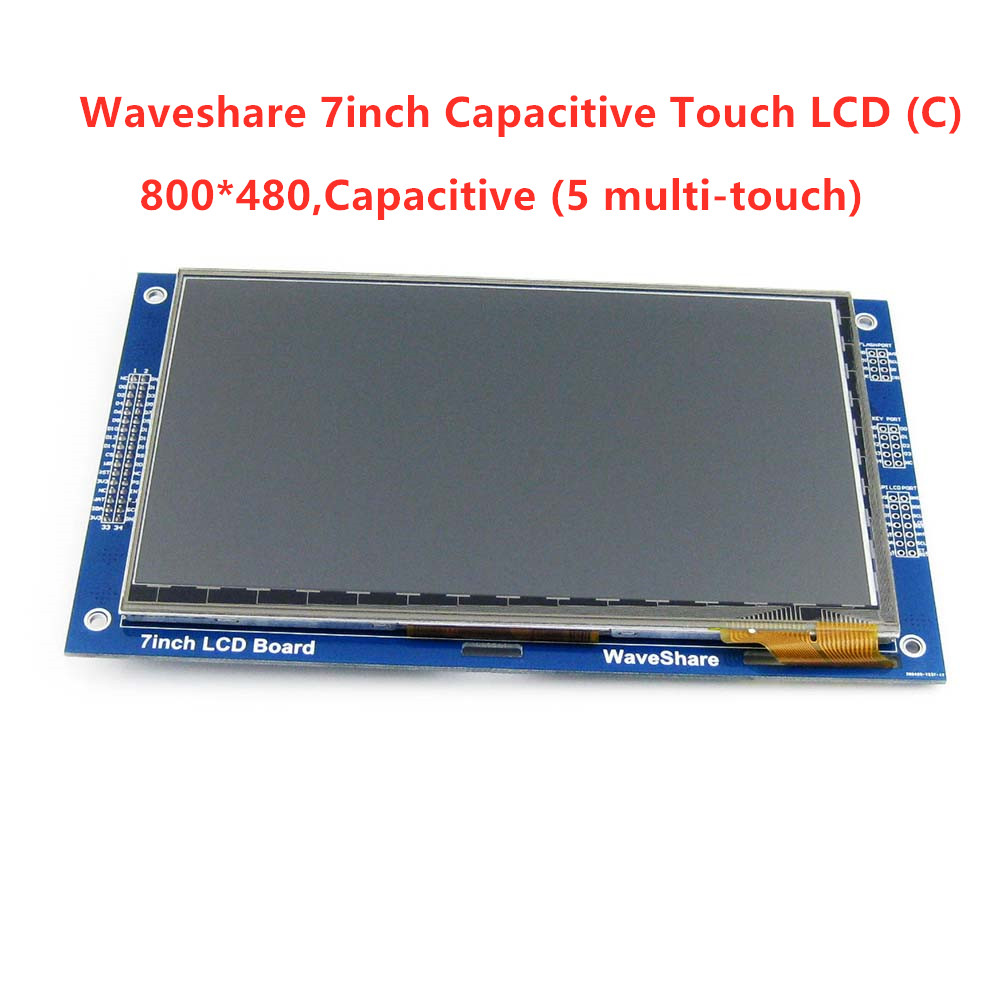 7inch Capacitive Touch LCD (C)  800*480 Pixel Multicolor Graphic LCD, TFT I2C Touch Screen Display Module Embedded 10KB ROM-in Demo Board from Computer & Office    1