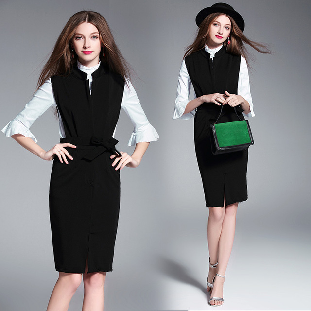 Woman Business Formal Dress Fashion Dresses