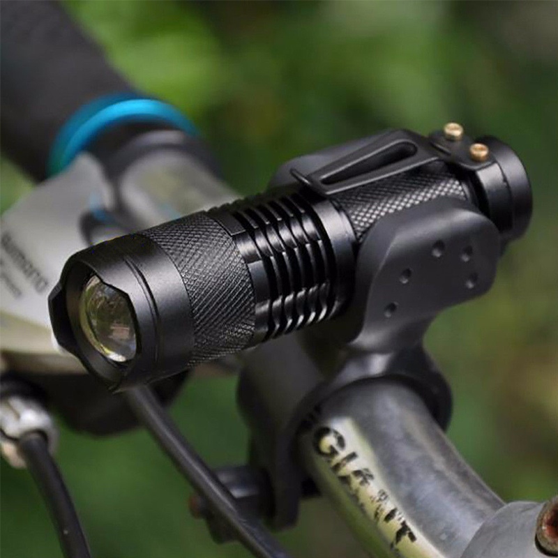 LED Bicycle Light 7 Watt 2000 Lumens 3 Mode Bike Q5 Waterproof Bike Light