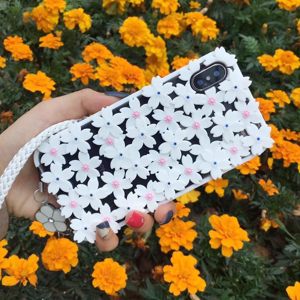 KIPX1048W_1_JONSNOW 3D Flower Hollow Out Phone Case For iPhone 7 8 Silicone Cases for iPhone XS XR 6S 7P 8 Plus XS Max Back Cover