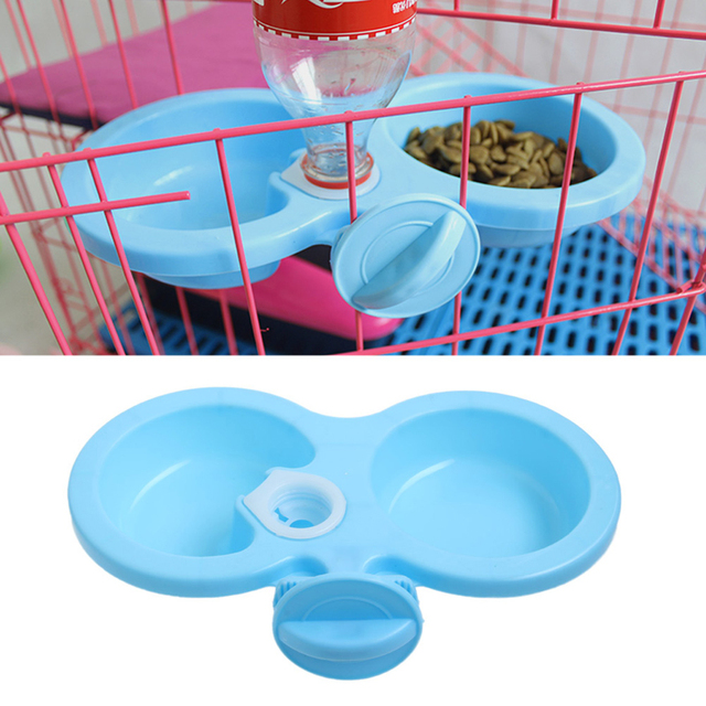 Dog Cat Cute Pet Puppy Cat Automatic Water Dispenser Food Dish Bowl Feeder