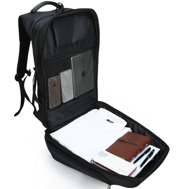 Купить с кэшбэком 15/17 Inch Backpack Men Women USB Charging Laptop Bag for Teenager Large Casual Shoulder Bagpack Travel Mini Back Packs Kingsons