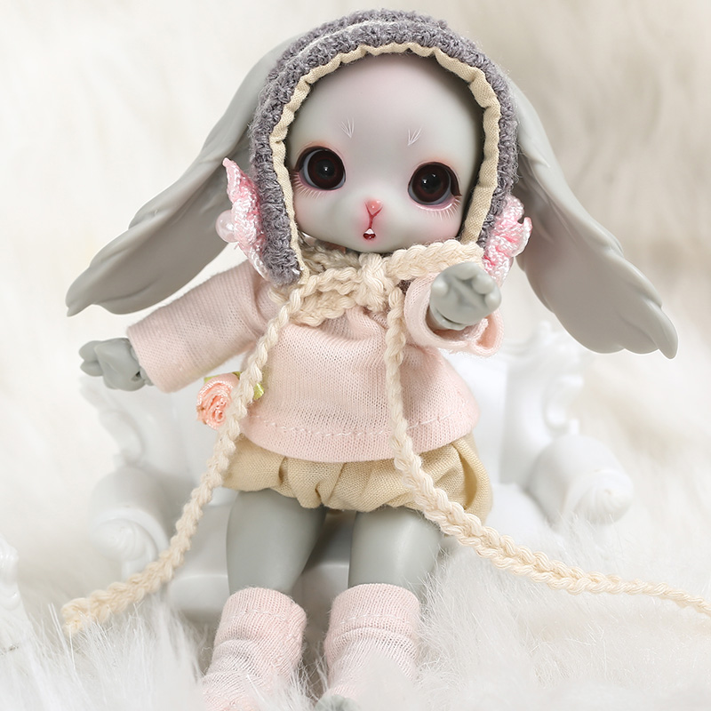 Dollsoom Leepy 1/8 Bjd YOSD ตุ๊กตากระต่ายรุ่นเด็กทารกคุณภาพสูงของเล่นวันเกิด Xmas แฟชั่นตุ๊กตา 1/3 BJD-ใน ตุ๊กตา จาก ของเล่นและงานอดิเรก บน   3