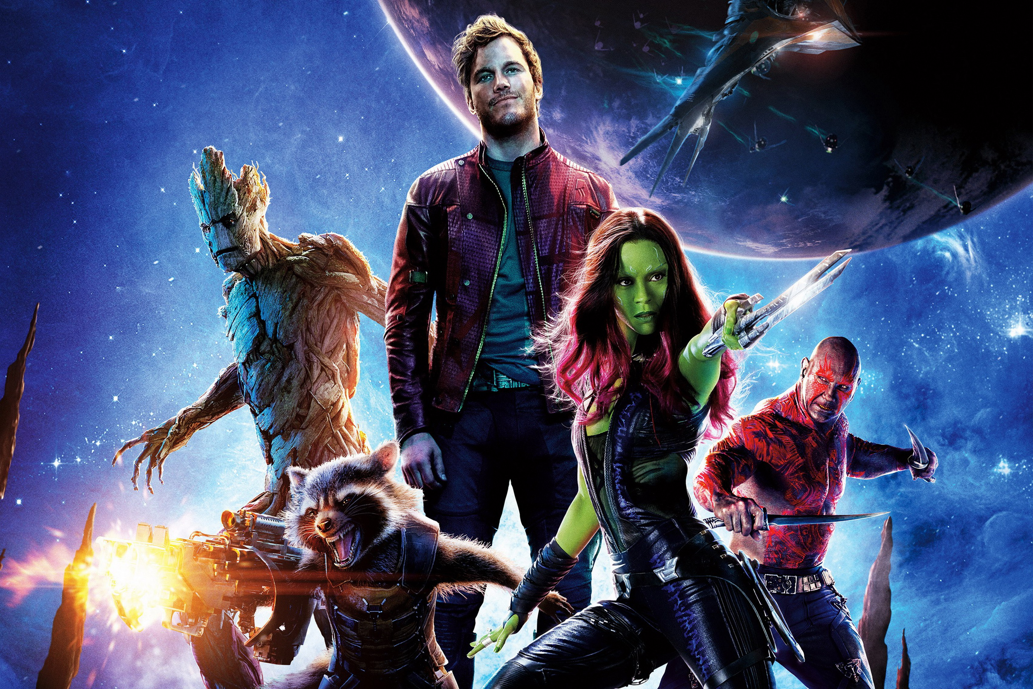 Home decoration Guardians of the Galaxy Silk Fabric Poster Print DY079 ...