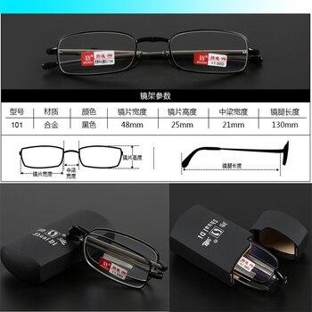 [Gafas de antena de RADIO] Marco plegable piernas estirables nuevo estilo gafas de lectura de aleación rígida + 1 + 1,5 + 2 + 2,5 + 3 + 3,5 + 4