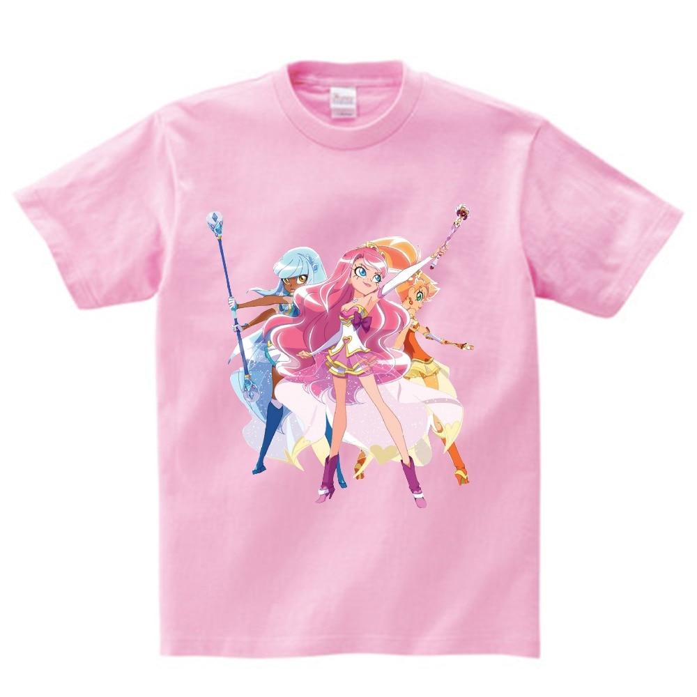 Jopjkjrhd LoliRock T-Shirt Casual Trendy T-Shirt Cartoon Imprimer T-Shirt /à Manches Courtes T-Shirt for Les gar/çons et Les Filles Les gar/çons et Les Filles