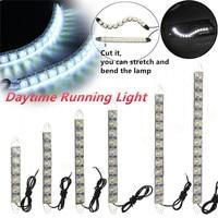 2X 6 14 LEDs Car COB DRL Driving Fog Light Flexible Daytime Running Light For Honda