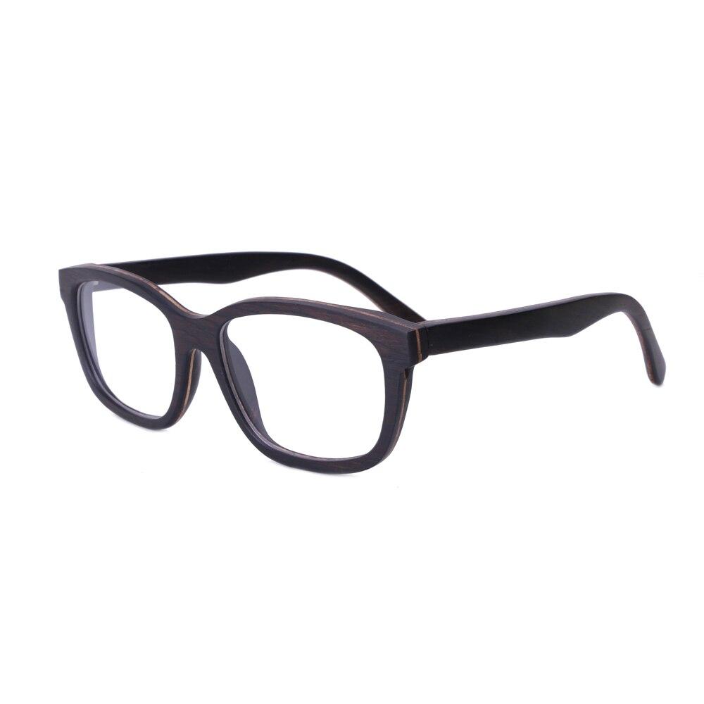 BerWer New 2019 Bamboo wood glasses women men Wooden glasses Women Wood glasses