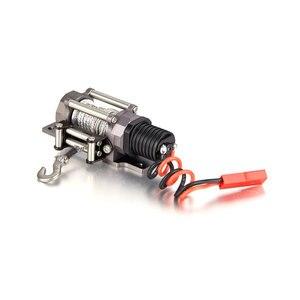 Image 2 - Treuil démulation entièrement métallique avec un seul moteur, pour camion à chenilles RC