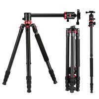 Zomei M8 trépied de caméra monopode Portable magnésium Aluminium professionnel trépied support plaque de dégagement rapide pour appareils photo DSLR