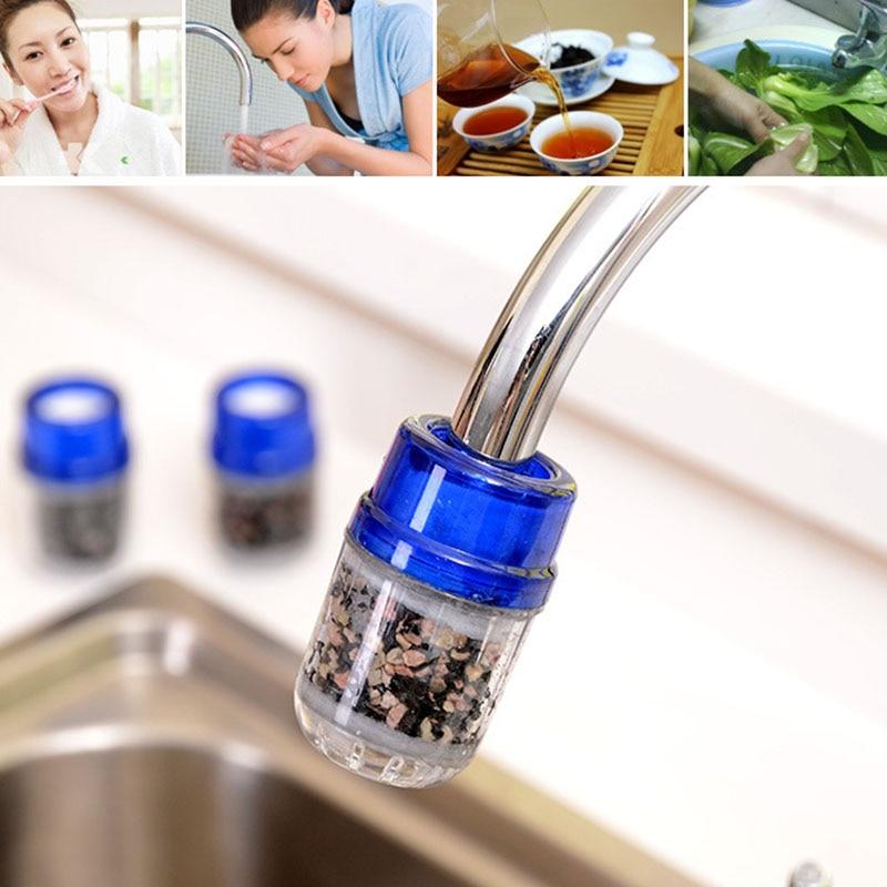 Activated Carbon Water Filter Huis Huishouden Keuken Mini Tap Water filter Clean Purifier Filter Filtratie Cartridge TSLM1