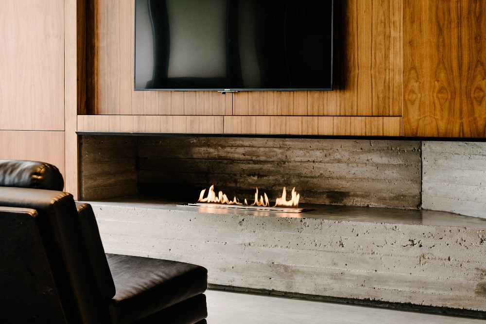 36 Inch Real Fire Intelligent Automatic Ethanol Bio Kamin Fireplace
