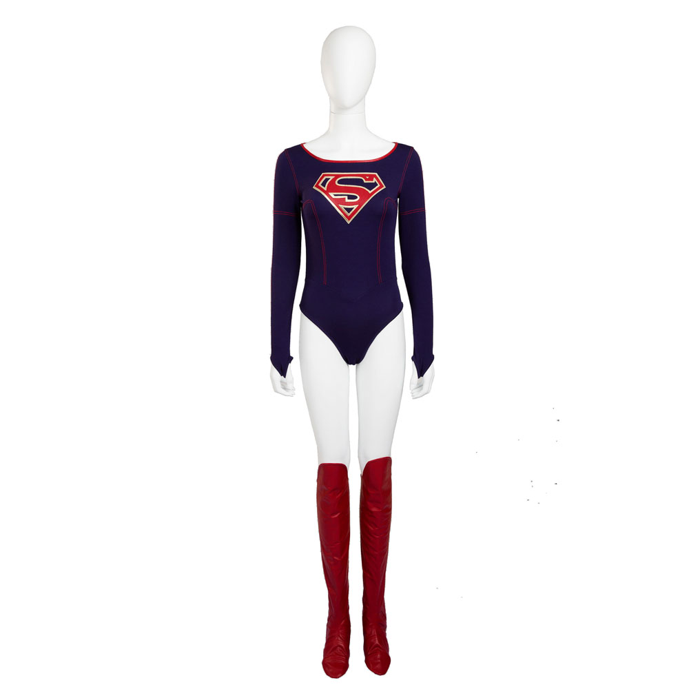 Supergirl Cosplay Carnival Halloween Costume For Women Party fancy Outfit DC Justice League Superhero Kara Kent Suit custom made