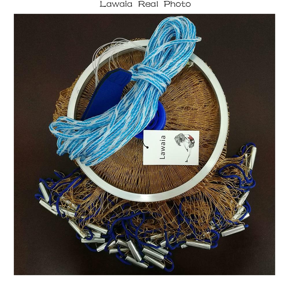 Lawaia Ψάρεμα Net Diamter 2.4M-7.2M Υψηλής - Αλιεία - Φωτογραφία 6