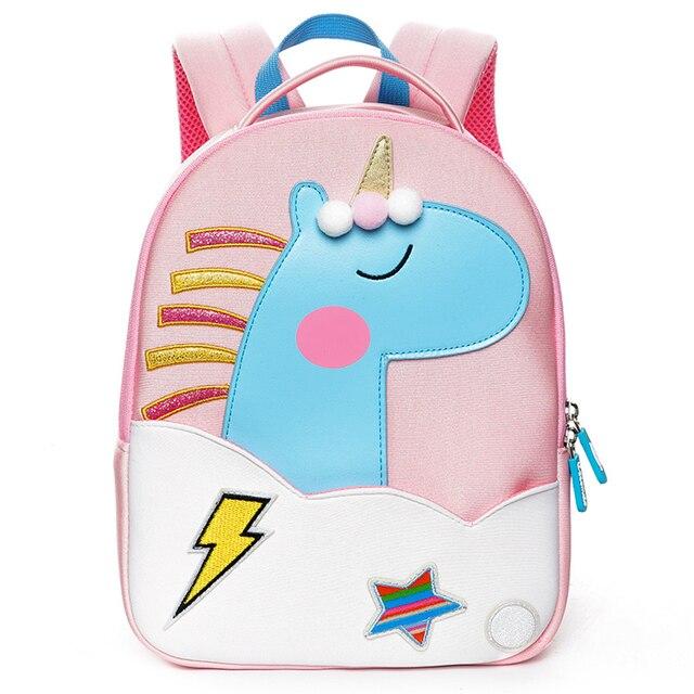 Cocomilo Del Fumetto Per Bambini Sacchetto Di Scuola 3d Unicorno