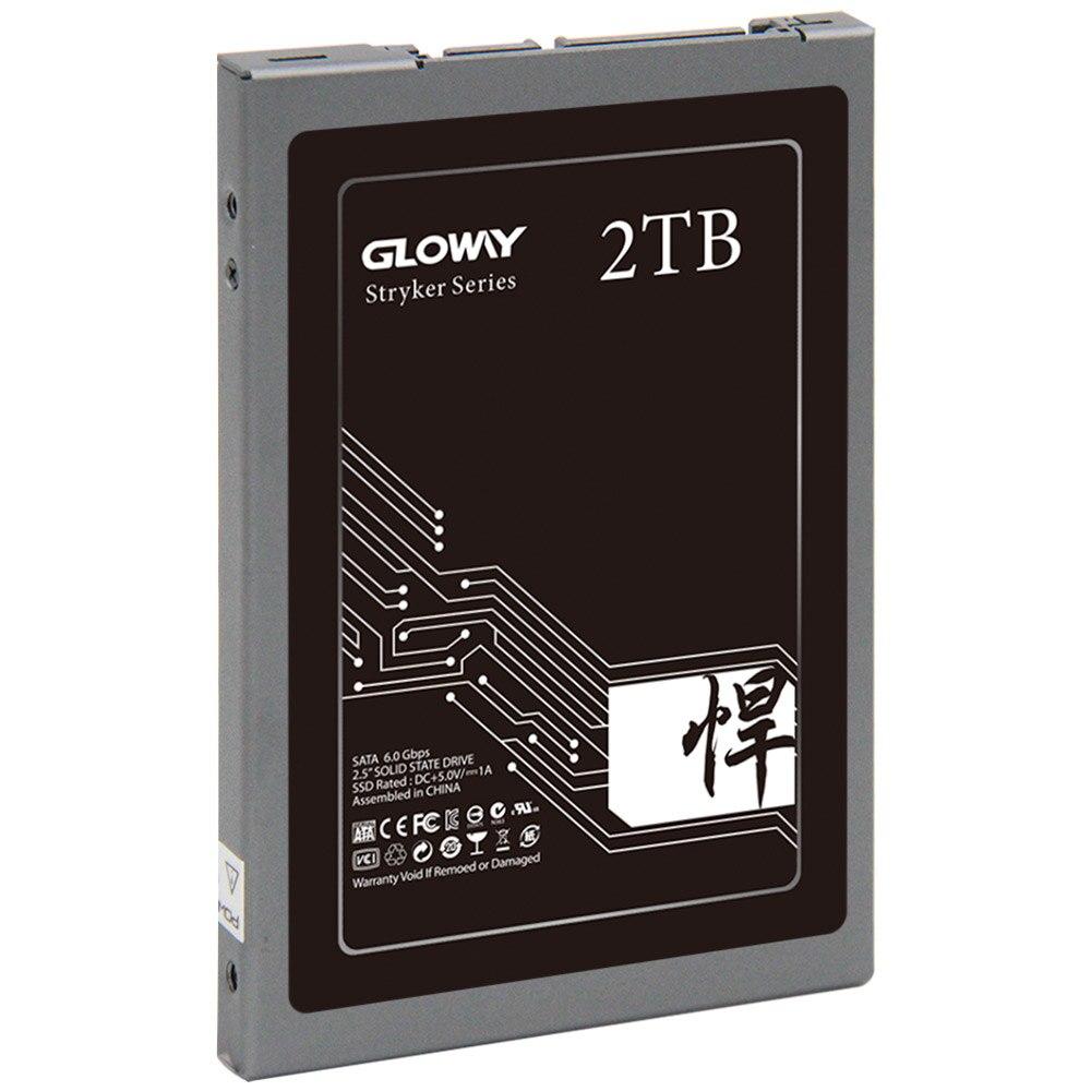 Gloway 1.5 to 2 to disque dur interne à semi-conducteurs HDD disque dur SATA 3 2.5 pour ordinateur portable de bureau disque SSD 1.5 T 2 T