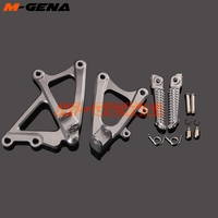 Front Footpegs Foot Pegs Footrest Pedals Bracket For YZF1000 R1 YZF R1 YZFR1 2009 2010 2011 2012 2013 2014 09 10 11 12 13 14