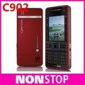 Оригинальный Sony Ericsson C902 мобильный телефон 3 г 5-мп камерой bluetooth