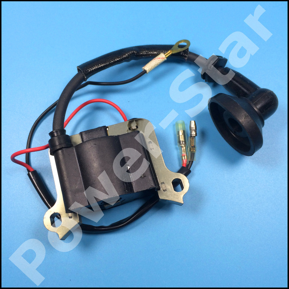 2 Stroke Ignition Coil 33cc 43cc 49cc Mini Chopper Pocket Bike Brush Engine Scooters motorcycle Parts 2 stroke ignition coil 33cc 43cc 49cc mini chopper pocket bike brush