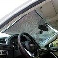 58x125cm Retractable Car Curtain Window Shade Windshield Sunshade Shield VisorBlack Foldable Former Block Retractable Protector