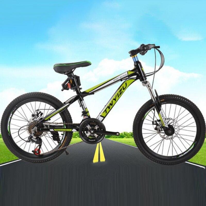 Mountain Bike Aluminum Alloy Frame 20 Inches 21 Speed Double Disc Double Disc Brake