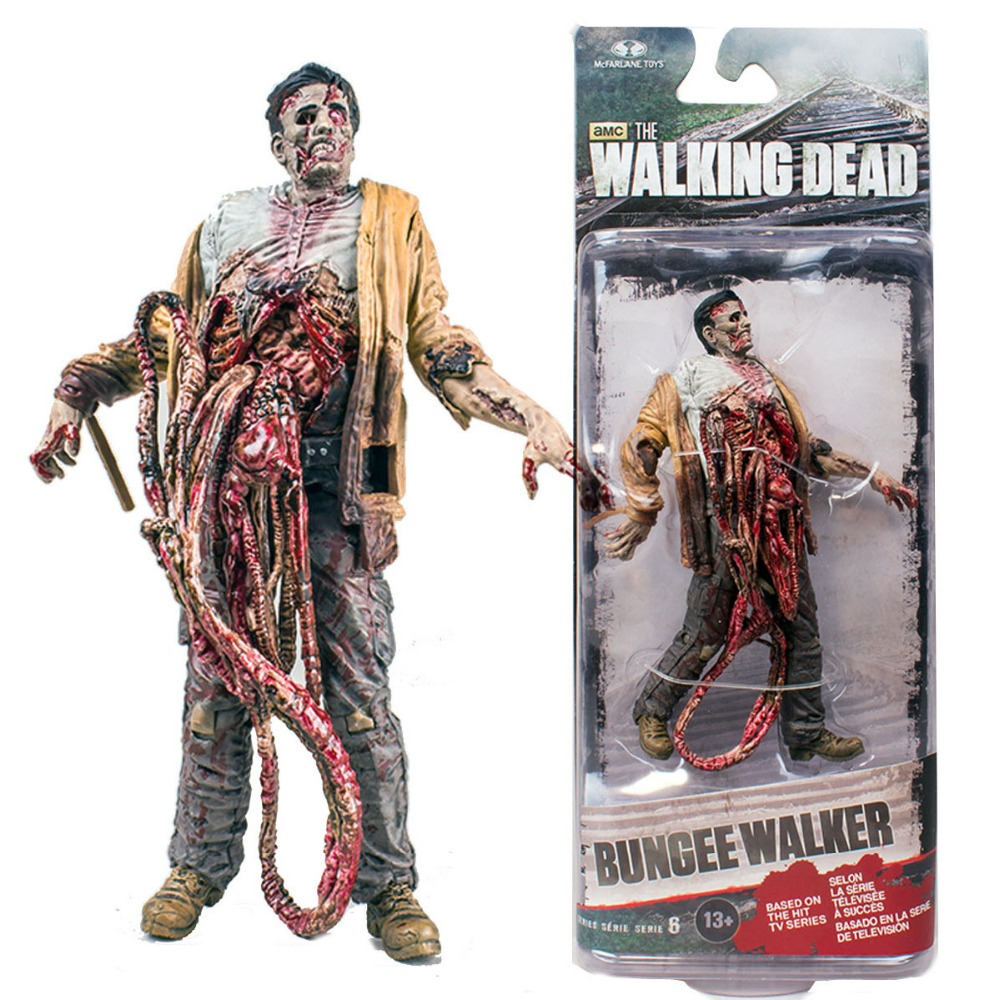 "<font><b>McFarlane</b></font> <font><b>Toys</b></font> <font><b>TV</b></font> <font><b>Walking</b></font> <font><b>Dead</b></font> Bungee Walker <font><b>Series</b></font> 6 Figure 5"" Free Shipping"
