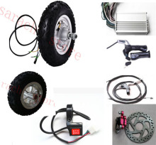 "10"" 500W 24V electric skateboard kit , electric scooter conversion kit , electric wheel hub motor for wheelchair"