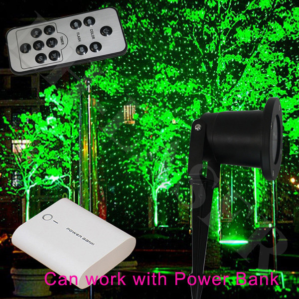 Green Landscape Starry Sky Outdoor Laser Light Show Projector Waterproof Garden Lights Lazer With Remote In Stage Lighting Effect From