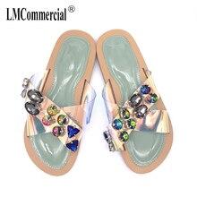 Slippers Women fashion Summer outside wearing flat bottom plastic slippers Fashion comfortable soft bottom women's shoes