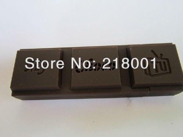 Free shipping DVB-T Mini Digital TV ezcap Chocolate Bar USB DVB-T Digital HDTV TV FM/DAB Remote Tuner Stick MPEG4 TV Dongle