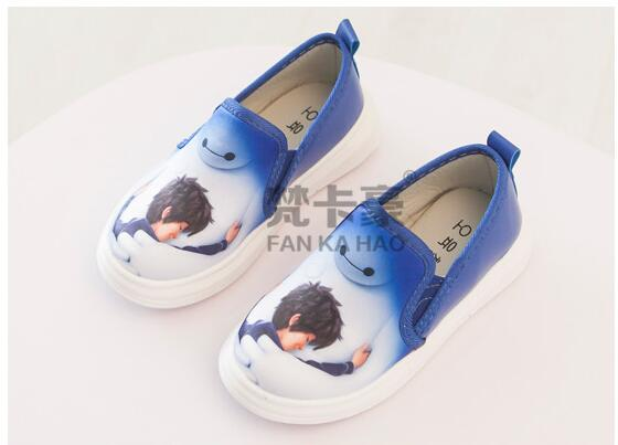 Hello children shoes for girls baby canvas sneakers Big Hero 6 sneakers kids shoes for boys and girls Chaussure enfant