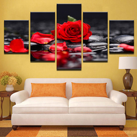 5 Panel Wall Art Decorate Movie Portrait Poster Tableau Decoration Murale Salon Watercolor Painting On Canvas Modern Home Prints