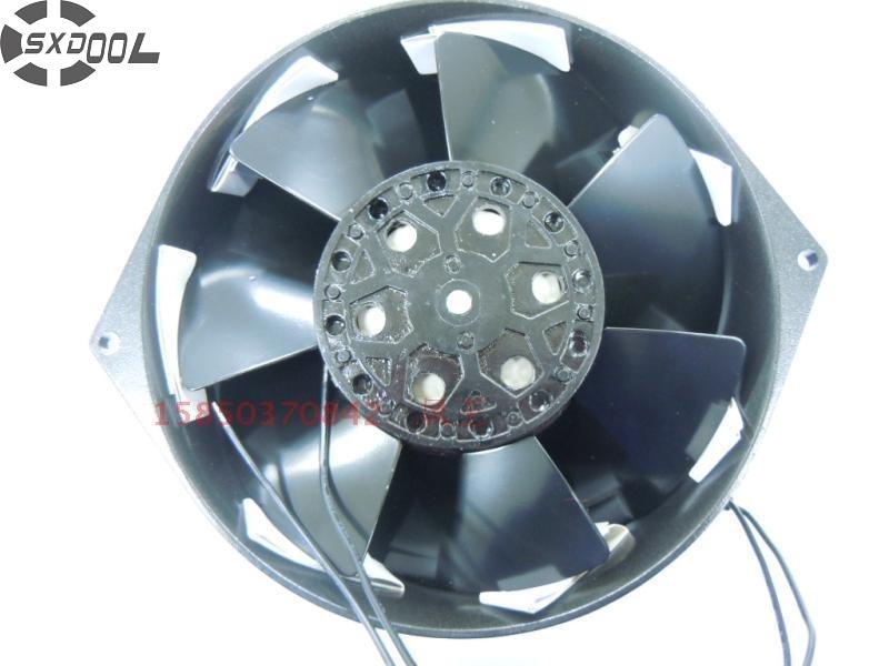 все цены на SXDOOL Brand New 5E-115B 17250 17cm 115V high temperature box iron leaves axial fan онлайн