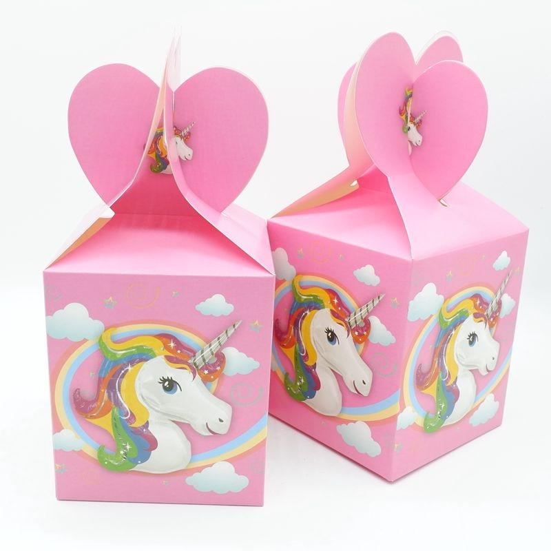 יום הולדת חד קרן מדבקות למתנות אריזות חבילות לרכישה לייף דיזיין