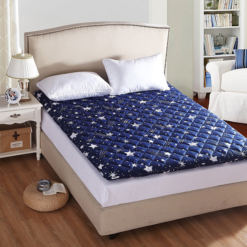 SongKAum Hot sale!!!High Quality Comfortable Mattress Thick Warm Foldable Single Or Double Mattress Fashion Starry Sky Design